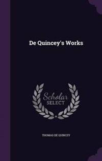 de Quincey's Works