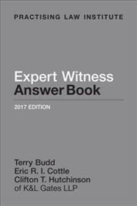 Expert Witness Answer Book 2016