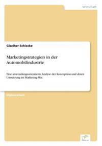 Marketingstrategien in Der Automobilindustrie