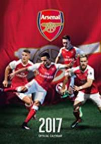 Arsenal Official 2017 A3 Calendar