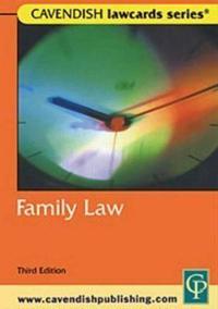 Cavendish: Family Lawcards 3/E
