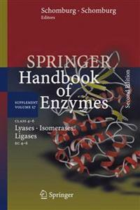 Class 4-6 Lyases, Isomerases, Ligases