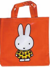 Röd väska till Dick Bruna/Miffy-böcker