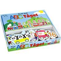 Lär dig alfabetet med ABC-tåget