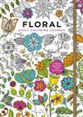 Floral Adult Coloring Journal: Stress-Relieving Designs and Activities