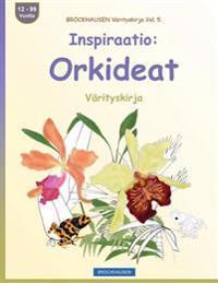 Brockhausen Värityskirja Vol. 5 - Inspiraatio: Orkideat: Värityskirja
