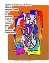 Inspirerad AV Braque Och Picasso Lara Sig Analytisk Cubism Konst Stil Malarbok Original- Handgjort Ritningar Gjord AV Konstnar Grace Divine