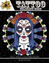 Tattoo Coloring Book: Black Page a Fantastic Selection of Exciting Imagery (Tattoo Coloring Books for Adults)