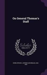On General Thomas's Staff