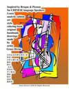 Inspired by Braque & Picasso for Chinese Language Speakers Learn Analytic Cubism Art Style Coloring Book Original Handmade Drawings Made by Artist Gra