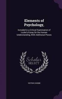 Elements of Psychology,