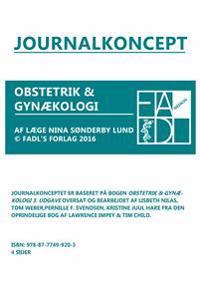 Gynækologisk og obstetrisk journalkoncept