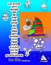 Livro de Colorir Barcos Navegacao Agua Mar Oceano Ondas Diversao Para Todos Criancas Adulto Aposentados Escola Trabalho Hospital Lar de Idosos Nivel F