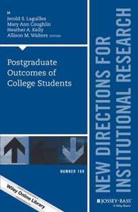 Postgraduate Outcomes of College Students