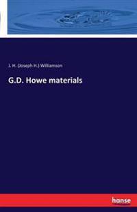 G.D. Howe Materials