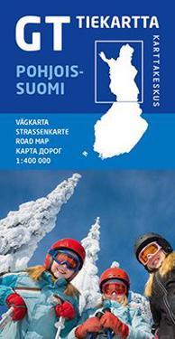 GT tiekartta Pohjois-Suomi 1:400 000