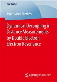 Dynamical Decoupling in Distance Measurements by Double Electron-electron Resonance