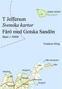 Svenska kartor: Fårö med Gotska Sandön