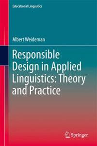Responsible Design in Applied Linguistics