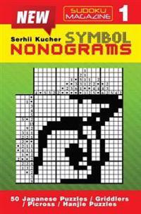 Symbol Nonograms: 50 Puzzles. Book 1