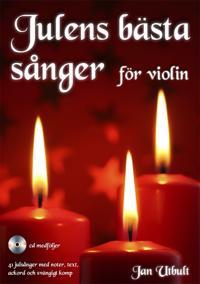 Julens bästa sånger för violin (med cd och på Spotify)