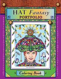 Hat Fantasy Portfolio Coloring Book: Coloring Book