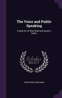 The Voice and Public Speaking