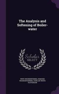 The Analysis and Softening of Boiler-Water