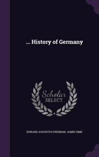... History of Germany