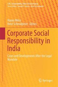 Corporate Social Responsibility in India