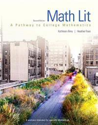 Math Lit Plus Mymath Lab -- Access Card Package [With Access Code]