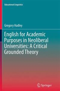 English for Academic Purposes in Neoliberal Universities