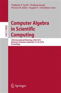 Computer Algebra in Scientific Computing