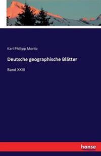 Deutsche Geographische Blatter