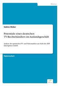 Potentiale Eines Deutschen TV-Rechtehandlers Im Auslandsgeschaft