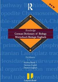 Langenscheidt German Dictionary of Biology/Worterbuch Biologie Englisch