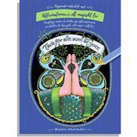 Peppande målarbok med affirmationer för ett magiskt liv
