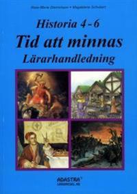 Historia Tid att minnas 4-6, lärarhandledning