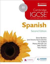 Cambridge IGCSE (R) Spanish Student Book Second Edition