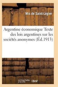 Argentine Economique