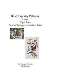 Bead Tapestry Patterns Loom Tiger Face Scarlet Taningers Audubon Print