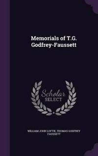 Memorials of T.G. Godfrey-Faussett
