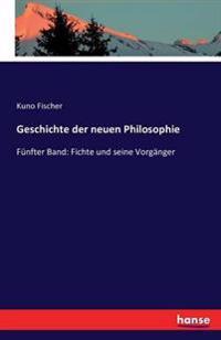 Geschichte Der Neuen Philosophie