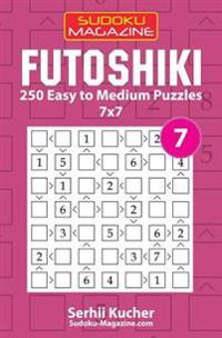 Futoshiki - 250 Easy to Medium Puzzles 7x7