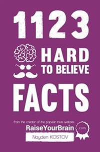 1123 Hard to Believe Facts: From the Creator of the Popular Trivia Website Raiseyourbrain.com