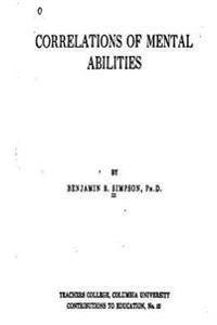 Correlations of Mental Abilities