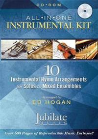 All-In-One Instrumental Kit: 10 Instrumental Hymn Arrangements for Solos to Mixed Ensembles, CD-ROM; Conductor Score & Parts
