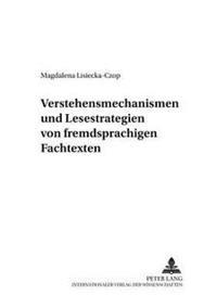 Verstehensmechanismen Und Lesestrategien Von Fremdsprachigen Fachtexten