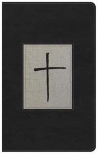 KJV Ultrathin Reference Bible, Black/Gray Deluxe Leathertouch, Indexed