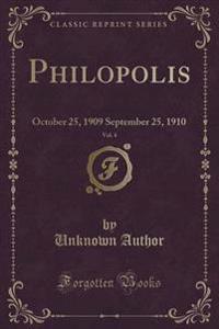 Philopolis, Vol. 4